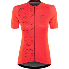 GORE WEAR C3 Brand Maillot Mujer, hibiscus pink/chestnut red